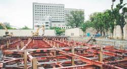 台南成功大學理學教學大樓新建工程—地下室開挖暨結構物回填工程