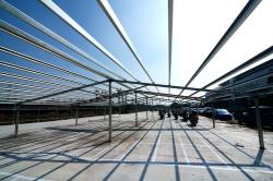 高雄捷運系統紅線R24車站興建工程—停車場興建暨底喳回填工程