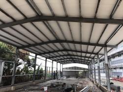 嘉義鹿草雞場鋼構工程