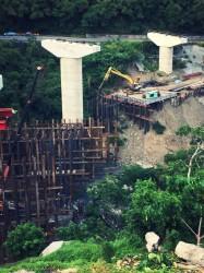 台東H型鋼施工便橋架設工程